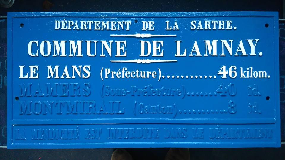 LAMNAY Distances Légales 1