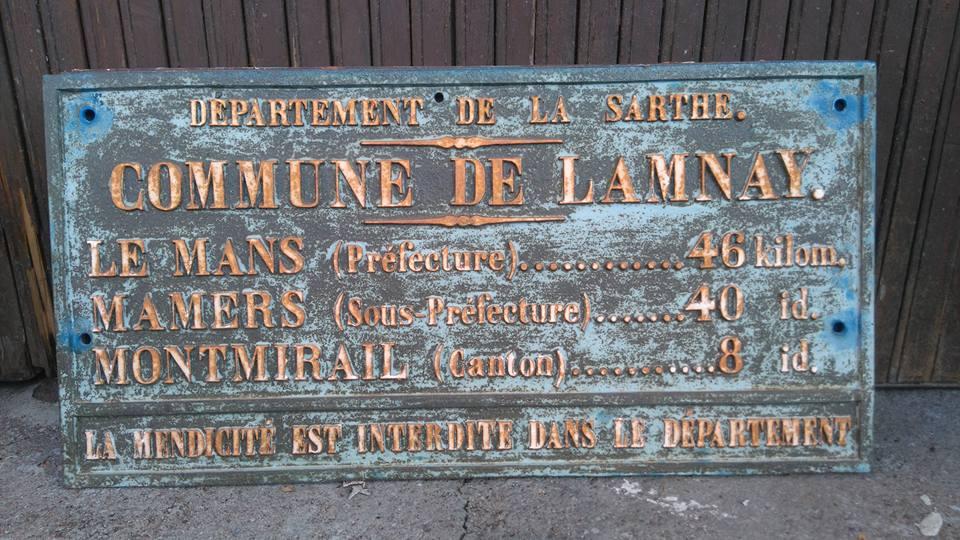 LAMNAY Distances Légales