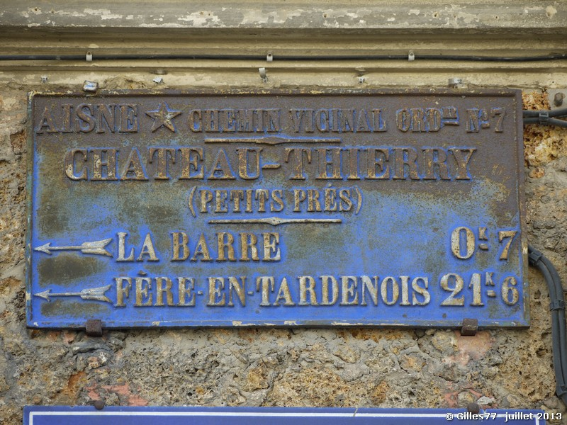 02 CHATEAU THIERRY 1 rue Jussaume Latour