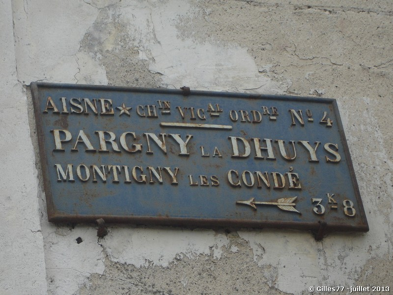 02 PARGNY LA DHUIS 1 rue de la Gare