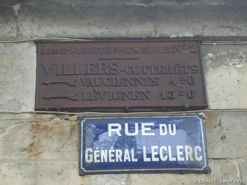 02 VILLERS COTTERETS CD231 93 rue du Gl Leclerc