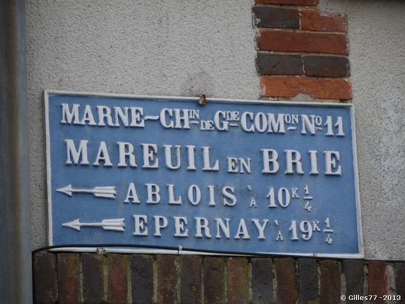 51 MAREUIL EN BRIE angle D11 rue des Ecossieres - Rue de l