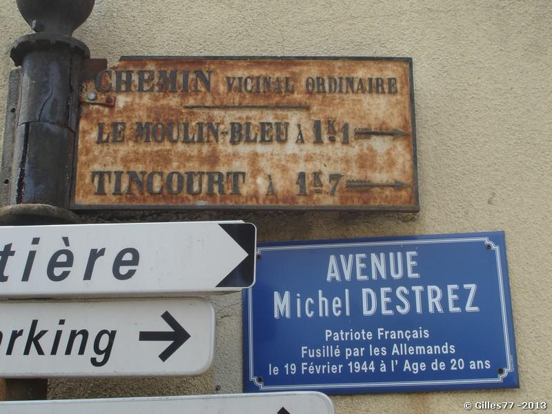 51 ST MARTIN D ABLOIS, intersection avec le CD11 rue Julien