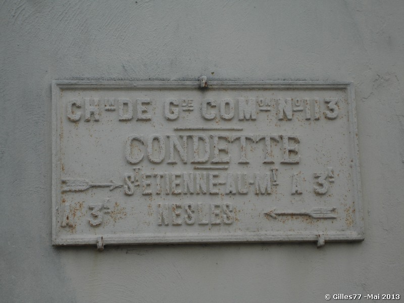62 CONDETTE n° 34 CD 940