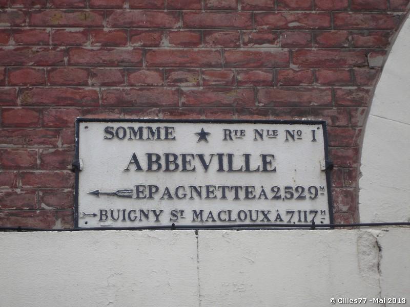 80 ABBEVILLE 2 rue St Gilles
