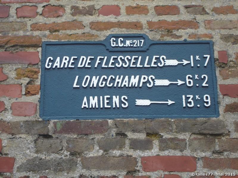 80 FLESSELLES -rue de la Vigne D933 -Rue de Villers D113