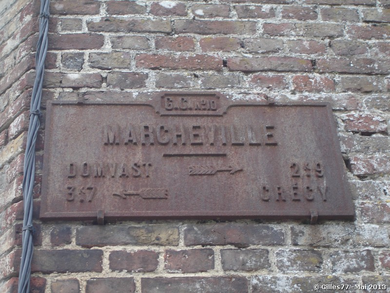 80 MARCHEVILLE CD 82 - route de Froyelle