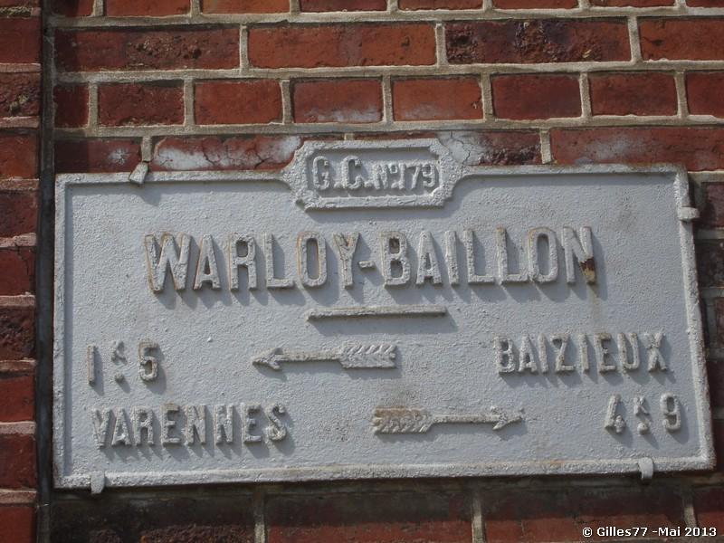 80 WARLOY BAILLON CD179 22 rue du Moulin
