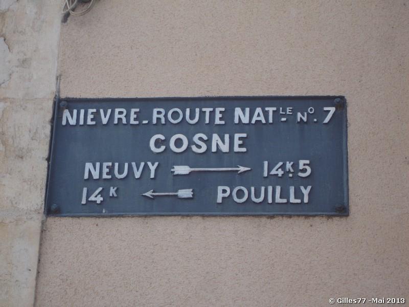 58 COSNE COURS SUR LOIRE face au 105 rue du Ml Leclerc