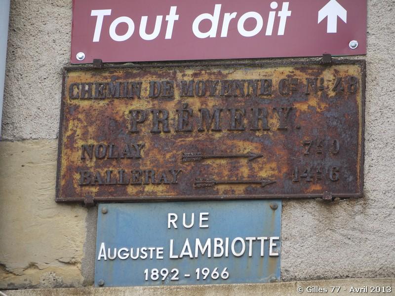 58 PREMERY 4 rue Auguste Lambiotte CD 148