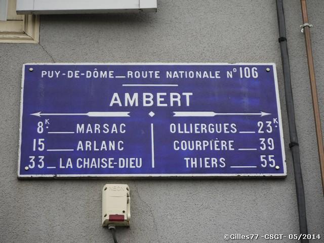 63 AMBERT 25 av Georges Clémenceau facade Credit Mutuel