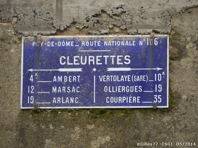 63 AMBERT lieu dit Cleurettes CD906