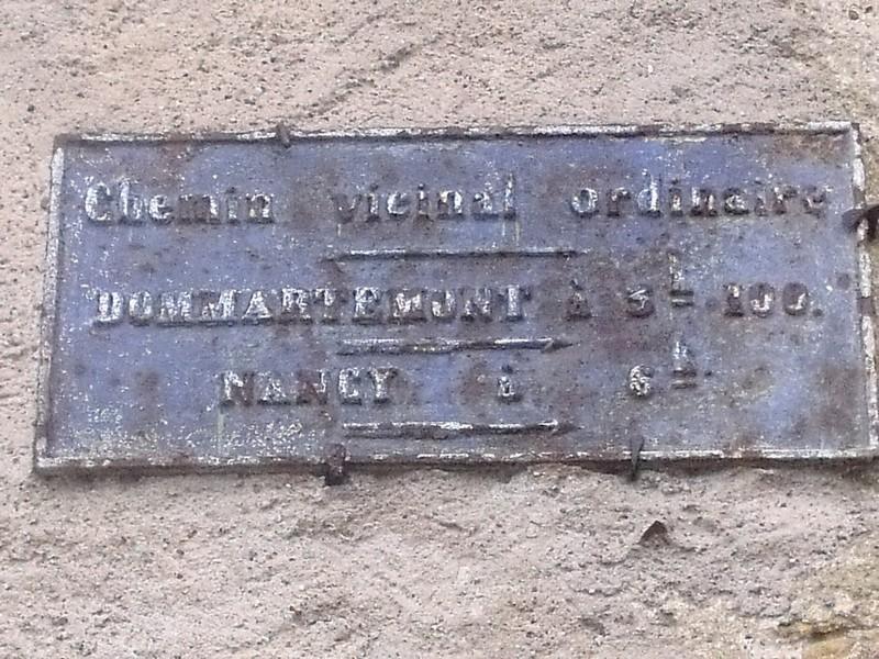 Agincourt ,plaque dans l'étatjanvier 2012