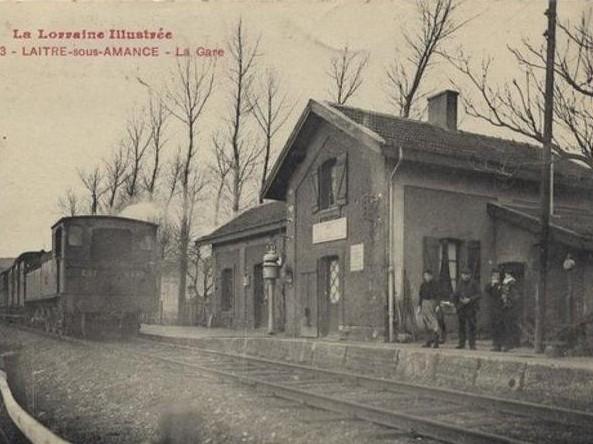 Gare Laître sous Amance