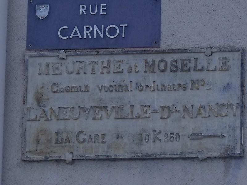 Laneuveville devant Nancy 54 rue Carnot novembre 2011