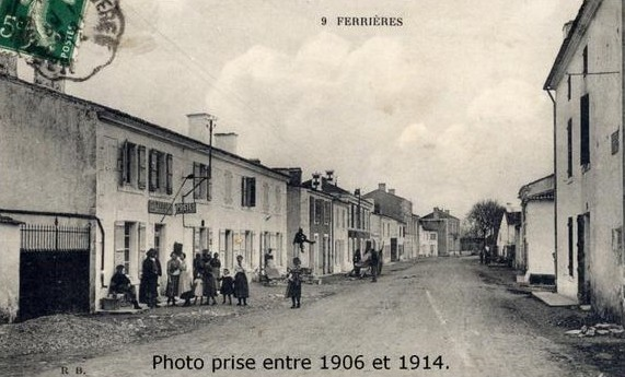 Ferrière d'Aunis 1906