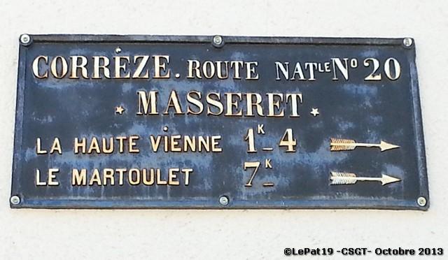 19 MASSERET 75 route de Limoges