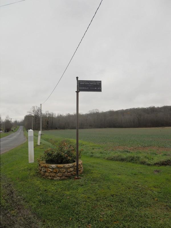 2012 Plaque de cocher St Ouen Sur Morin