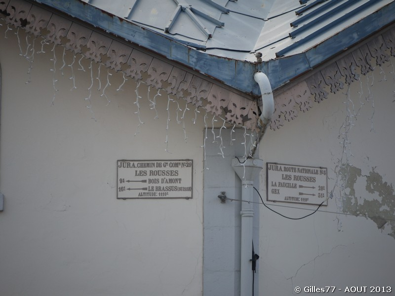 39 LES ROUSSES 247 rue Pasteur