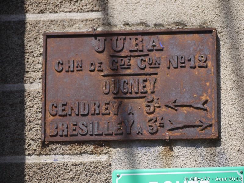 39 OUGNEY 1 route de Bresillley