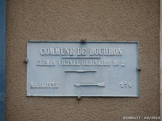 77 BOURRON MARLOTTE 36 rue du Gl de Gaulle
