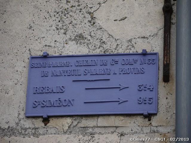 77 LA TRETOIRE CD55 route de Rebais - Route de Launoy