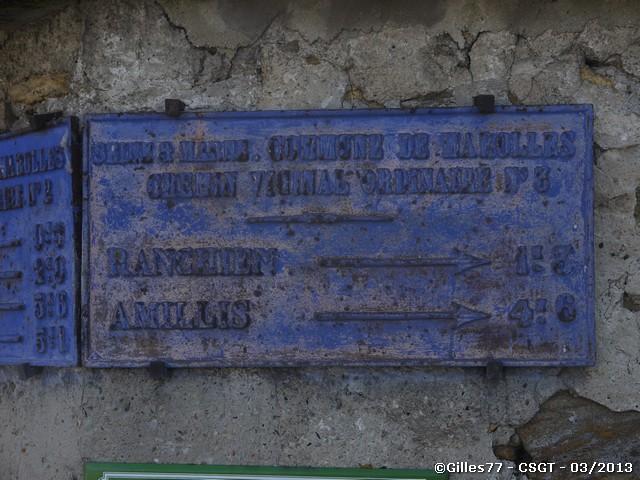 77 MAROLLES EN BRIE rue du cèdre-rue de l'arche