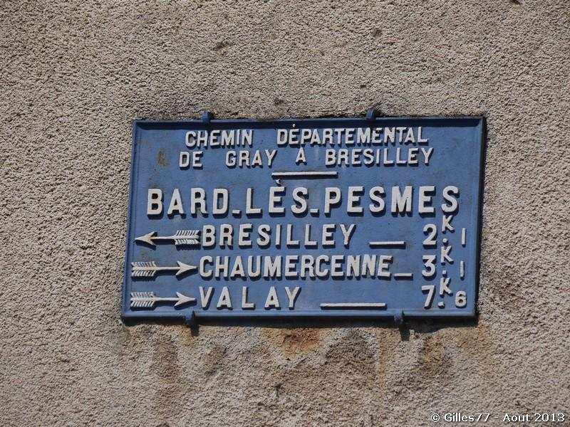70 BARD LES PESMES rue des champs des pres CD21