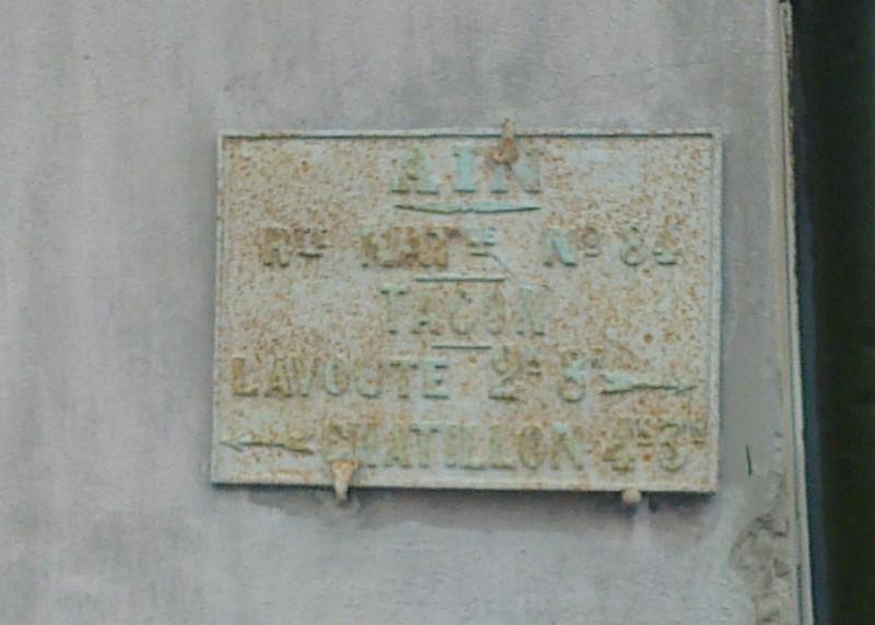 Châtillon en Michaille (Tacon)