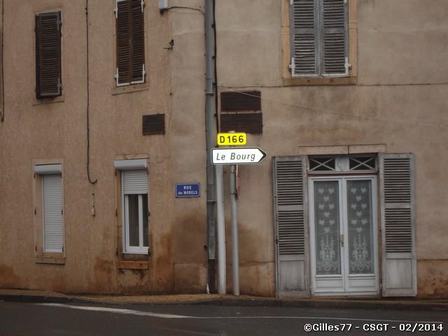71 LA CHAPELLE DE GUINCHAY RN6 - RUE DES MORELS