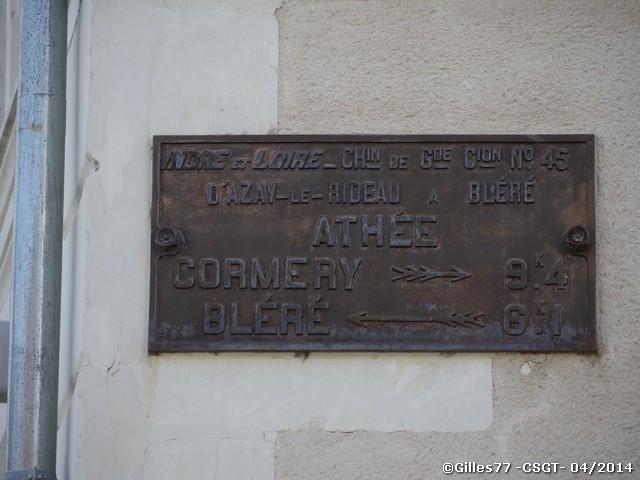 37 ATHEE SUR CHER rue Principale - rue de la gangnerie