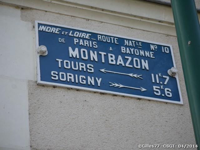 37 MONTBAZON 11 rue de la Gare - rue de la Venneterie