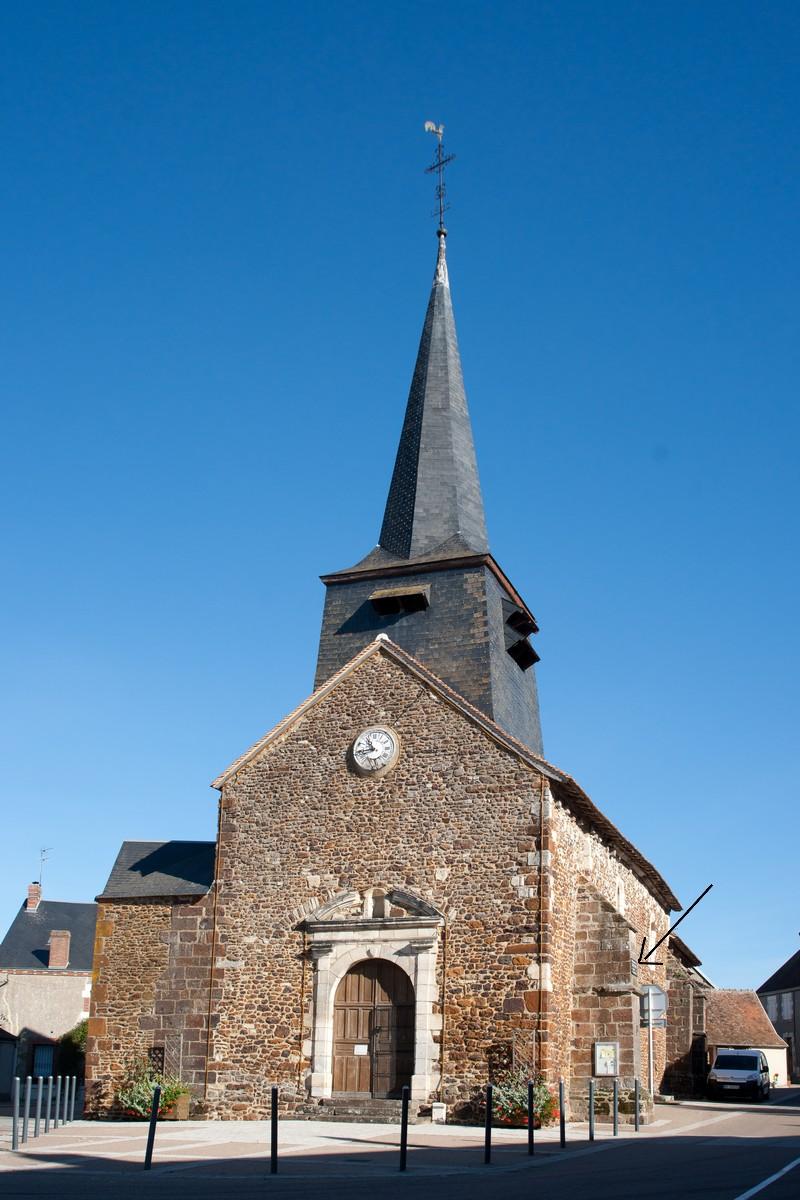 Sury-ès-Bois - église