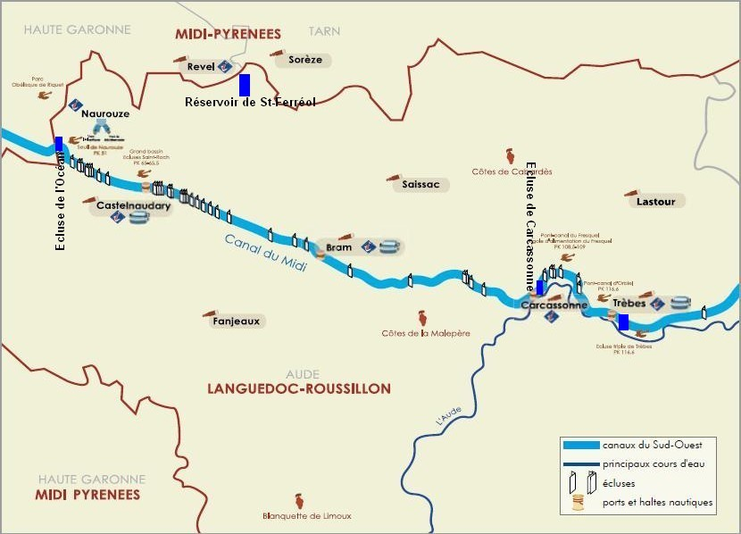 Castelnaudary Trebes