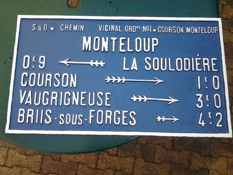 Monteloup 2 plaque rénovée