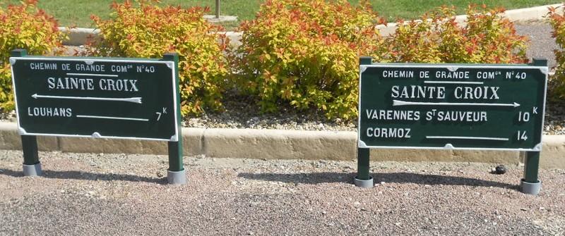 Ste Croix deux plaques