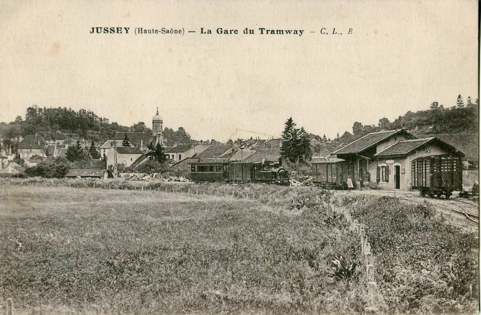 CL B - JUSSEY - La Gare du Tramway.JPG