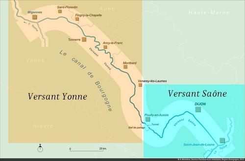 Canal De Bourgogne Carte.Canal De Bourgogne Plaquedecocher Fr